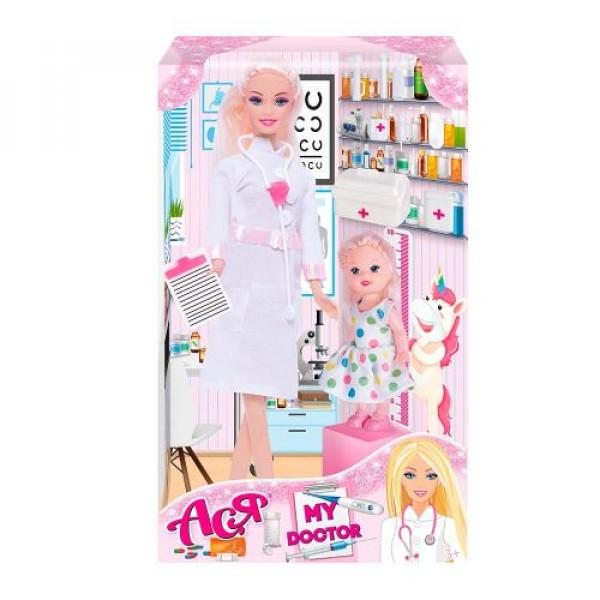 "Кукла Ася ""My Doctor"" с аксессуарами 35131"