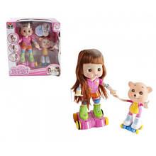 """Интерактивная кукла роллер """"BIBI"""" с мишкой 33306"""