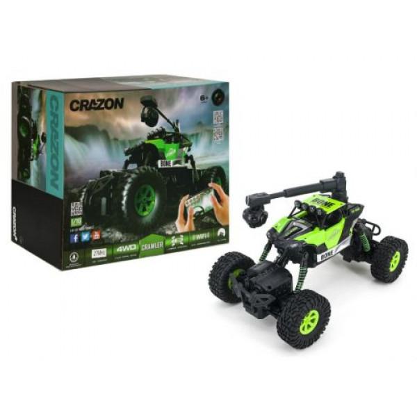 WiFi Позашляховик Crazon Crawler з камерою Зелений