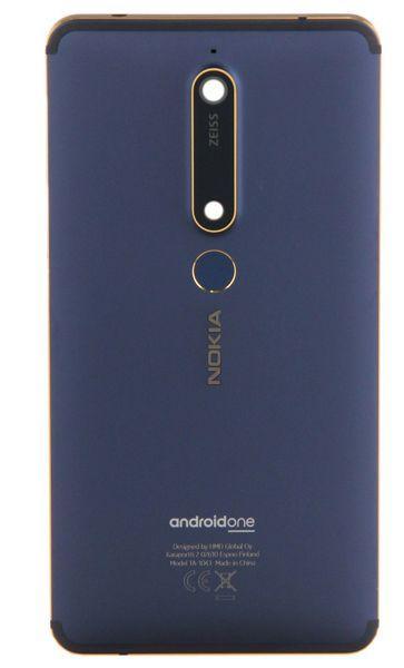 Задняя крышка корпуса Nokia 6.1 Dual Sim TA-1043 Original Blue