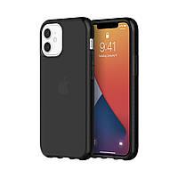 Чехол Griffin Survivor Clear iPhone 12 mini (GIP-049-BLK)