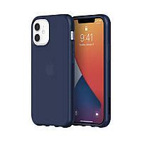 Чехол Griffin Survivor Clear iPhone 12 mini (GIP-049-NVY)