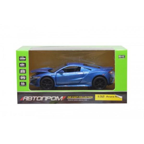 """Машинка """"Acura NSX"""" из серии """"Автопром"""" (синяя) 6607"""