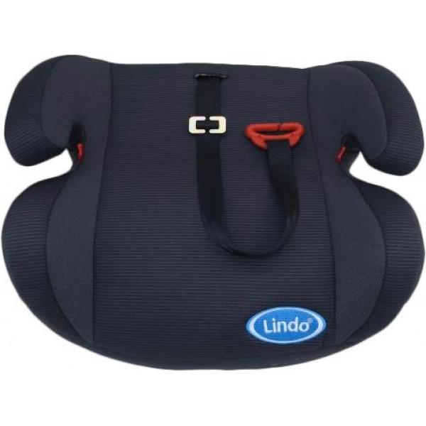 Детское автокресло бустер Lindo HB 605 Черный
