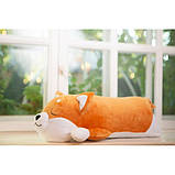 Плюшевая игрушка Сиба-ину спящий, фото 3