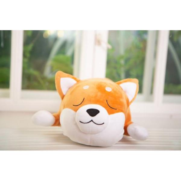 Плюшевая игрушка Сиба-ину спящий