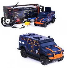 Внедорожник Racing Police, оранжевый