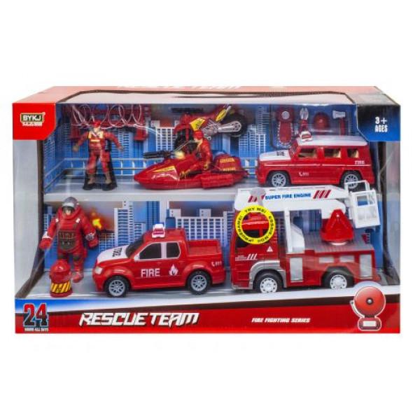 Транспортный набор Пожарная служба