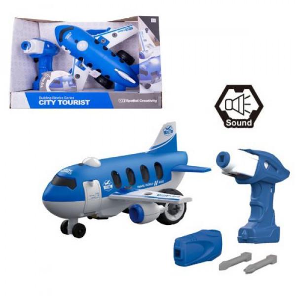 Машинка-конструктор Самолет