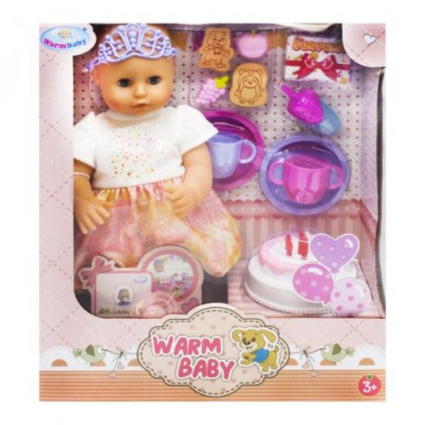 Пупс Warm Baby в платье