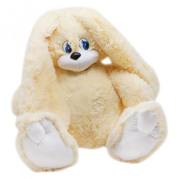 Зайка Сеня мягкая игрушка 57 см