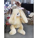 Зайка Сеня мягкая игрушка 57 см, фото 2