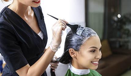 Как красить нарощенные волосы на капсулах