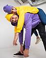 Толстовка худі чоловіча фіолетова, фото 7