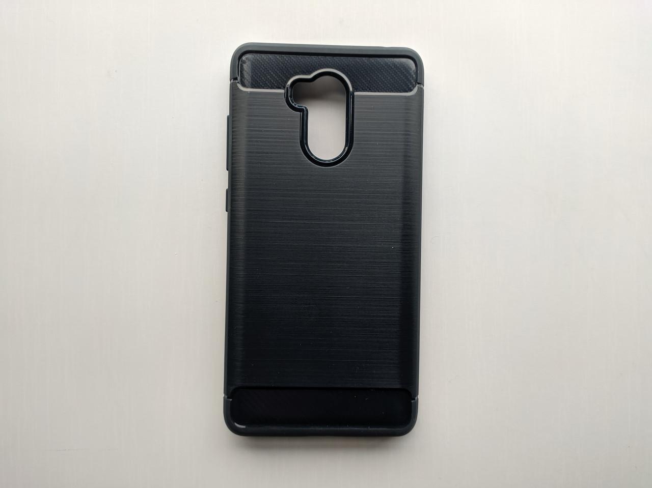 Силиконовый чехол Viseaon для Xiaomi Redmi 4 Pro темно синий