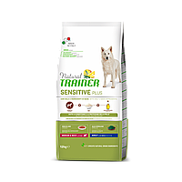 Сухий корм Trainer Dog Sensitive Plus Adult MM для дорослих собак середніх та великих порід з кониною, 12 кг