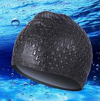 Шапочка для плавания Aqua Babble Conquest, код: SC18 Черный