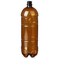 Бутылка пластиковая 2 л., коричневая (60 шт в упаковке) 061100052, фото 1