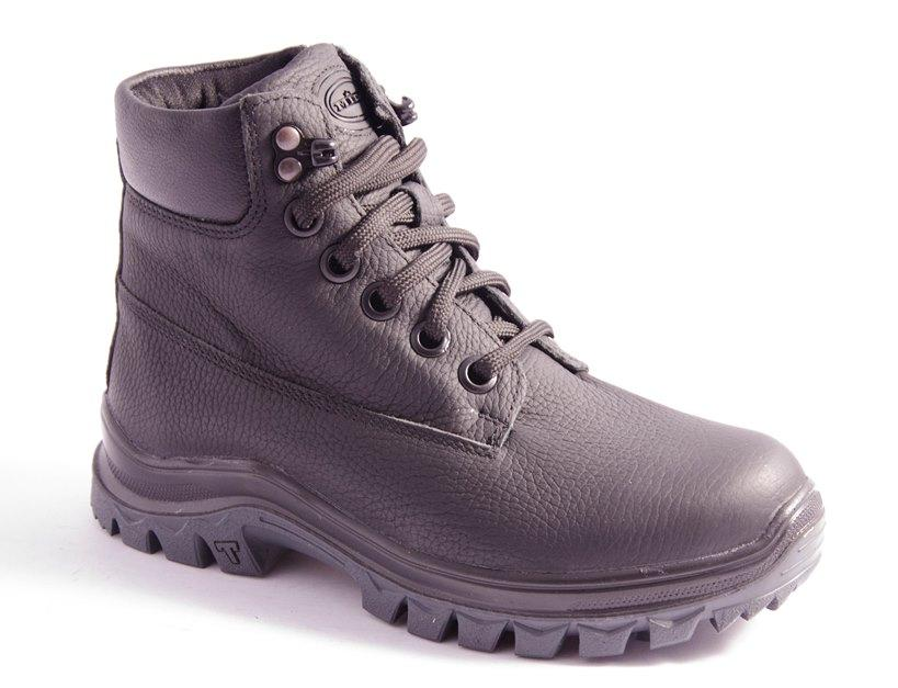 Ботинки подростковые черные Mida 34159
