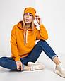 Толстовка худи женская оранжевая, фото 6