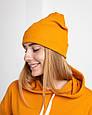 Толстовка худи женская оранжевая, фото 5