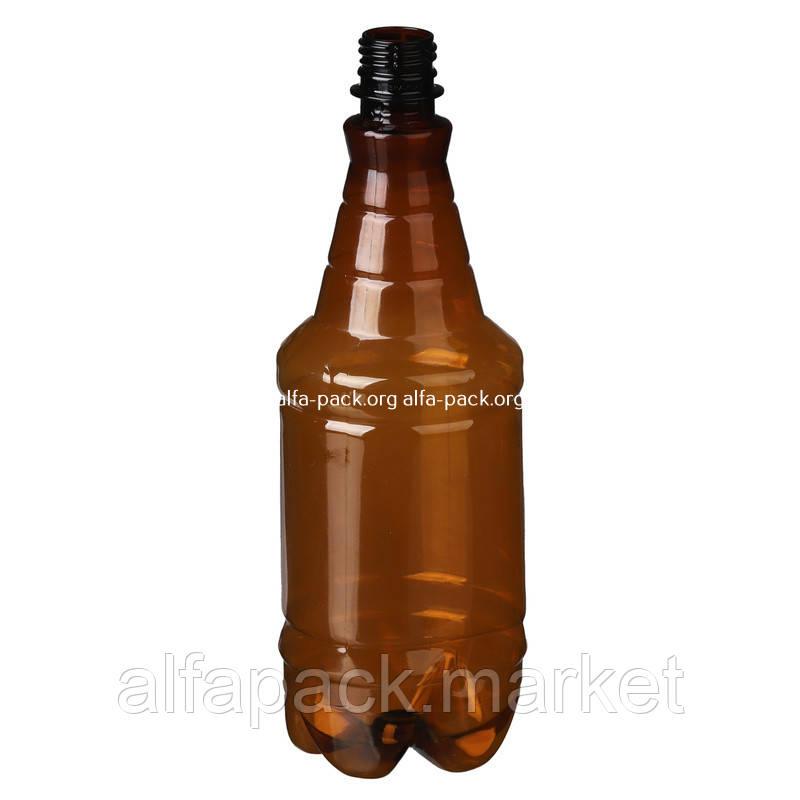 Бутылка пластиковая 1 л, гранат (252 шт в упаковке) 061100044