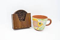 Подставки из дерева под чашку, кружку, стаканы