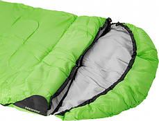 Спальний мішок Кемпінг Peak 200R з капюшоном, фото 2