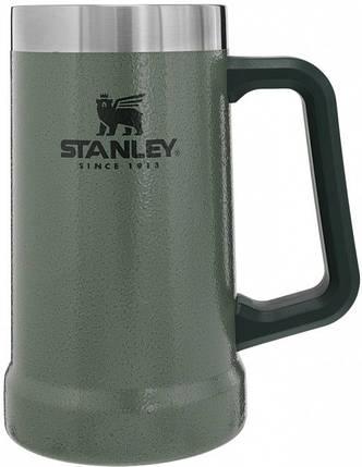 Термокружка Stanley Adventure Stein 700 мл Hammertone Green, фото 2
