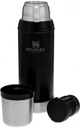 Термос Stanley Legendary Classic 750 мл Matte Black, фото 2
