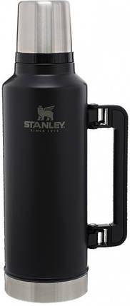 Термос Stanley Legendary Classic 1.9 л Matte Black, фото 2