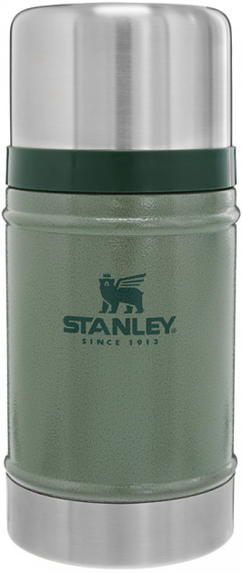 Термос для еды пищевой Stanley Classic Legendary 750 мл Hammertone Green