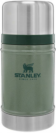 Термос для еды пищевой Stanley Classic Legendary 750 мл Hammertone Green, фото 2
