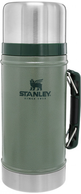 Термос для еды пищевой Stanley Classic Legendary 940 мл Hammertone Green