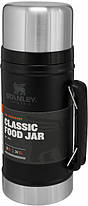 Термос для еды пищевой Stanley Classic Legendary 940 мл Matte Black, фото 3