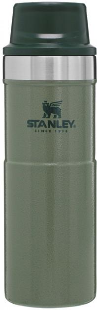 Термокружка Stanley Classic Trigger-action 470 мл Hammertone Green