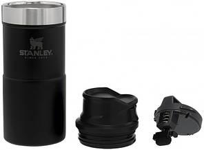 Термокружка Stanley Classic Trigger-action 350 мл Matte Black, фото 2