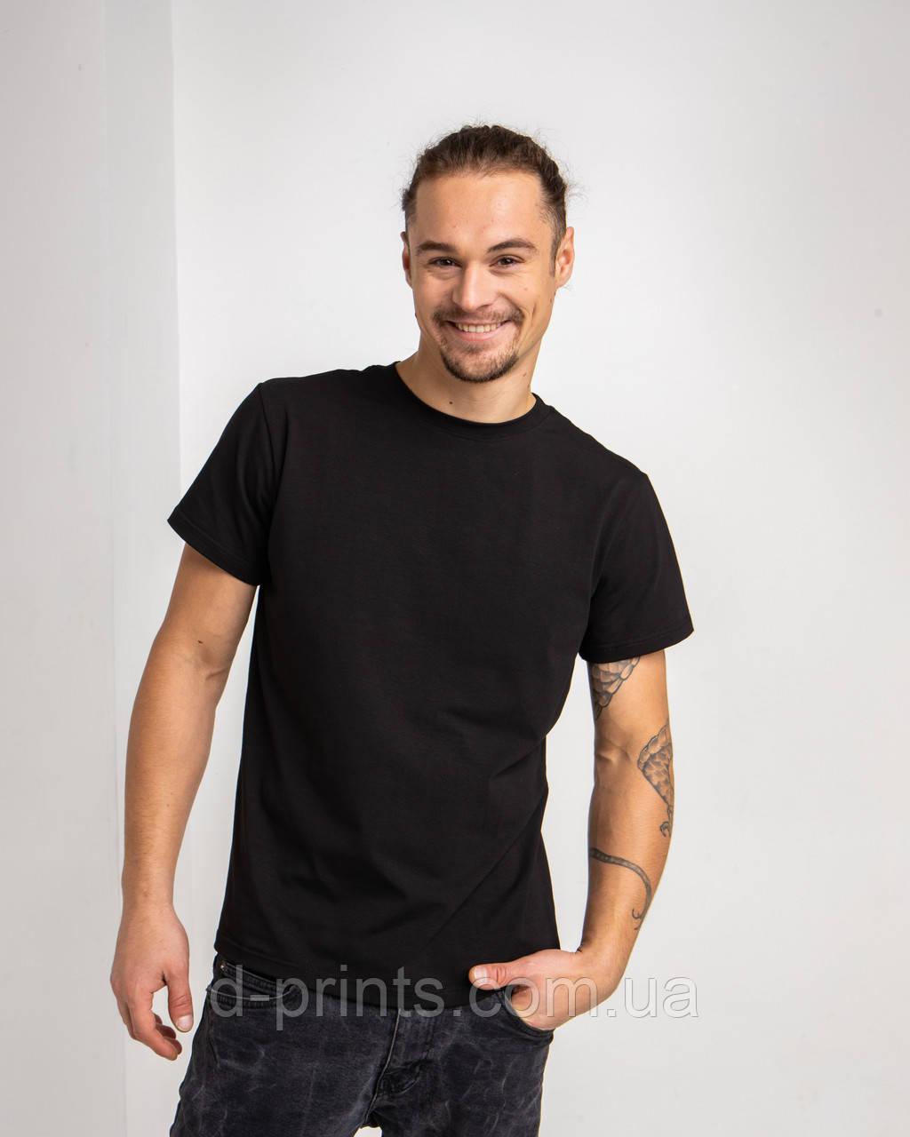 Футболка чоловіча AMULET PENIE 170 Чорна
