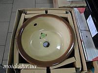 Мойка кухонная керамическая Dolomite mocca, фото 1