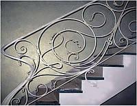 Кованые лестничные ограждения (перила)
