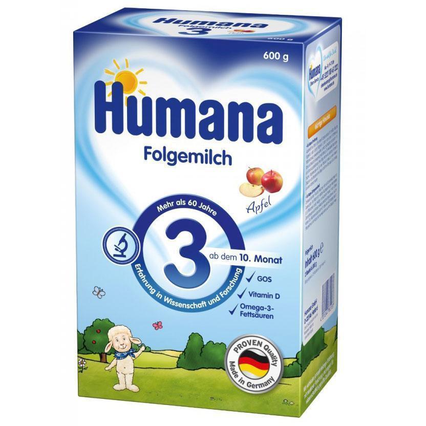 Humana Суха дитяча мол. суміш для подальшого годування Хумана 3 з пребіот. галактоолігосахарид.