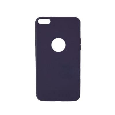 Силиконовый чехол Polished Carbon iPhone 7 (Синий)
