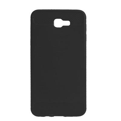 Силиконовый чехол Polished Carbon Samsung G570 Galaxy J5  Prime (Чёрный)