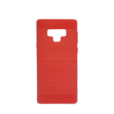 Силиконовый чехол Polished Carbon Samsung N960 Galaxy Note  9 (Красный)