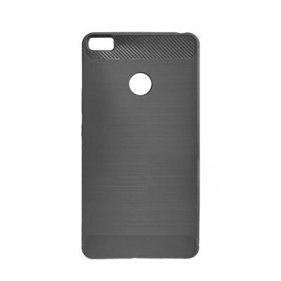 Силиконовый чехол Polished Carbon Xiaomi Mi Max (Чёрный)