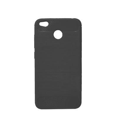 Силиконовый чехол Polished Carbon Xiaomi Redmi Note 5a  Prime (Чёрный)