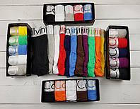 Мужские трусы Calvin Klein Набор боксеров Келвин Кляйн хлопок 5 штук в коробке