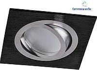 Точечный светильник алюминиевый Feron DL6120 MR16, G5.3 чёрный, фото 1
