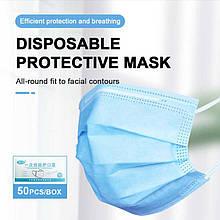 Защитные маски нестерильные Jinyu набор 50 штук