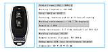 Универсальный беспроводной двух канальный модуль дистанционного управления 2 пульта 433 МГц, DC12V, фото 5